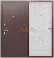 Металлическая дверь Dominanta беленый ясень