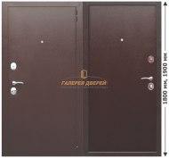 Металлическая дверь Гарда mini Металл/Металл