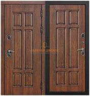Металлическая дверь Isoterma грецкий орех