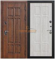 Металлическая дверь Isoterma сосна белая