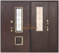 Металлическая дверь Венеция венге