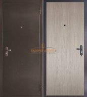 Металлическая дверь Эконом капучино