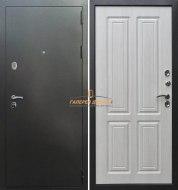 Входная дверь Кондор Изотерма Антик серебро/Белый сандал