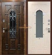 Металлическая дверь Лацио Дуб мореный