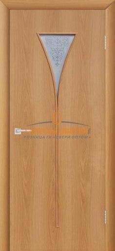 Межкомнатная дверь 4С3 Миланский орех