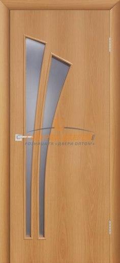Межкомнатная дверь 4С4 Миланский орех