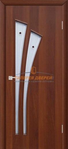 Межкомнатная дверь 4С4Ф Итальянский орех