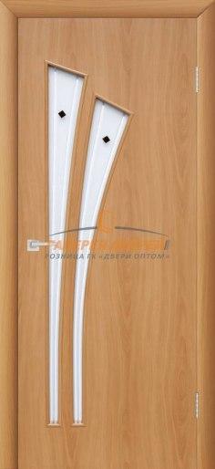 Межкомнатная дверь 4С4Ф Миланский орех