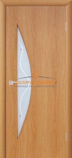 Межкомнатная дверь 4С5Ф Миланский орех
