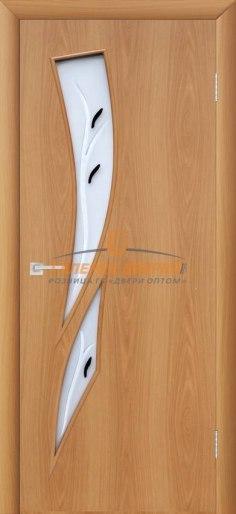 Купить межкомнатную дверь 4С8Ф Миланский орех