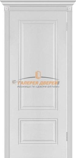 Межкомнатная дверь Аккорд эмаль белая ПГ