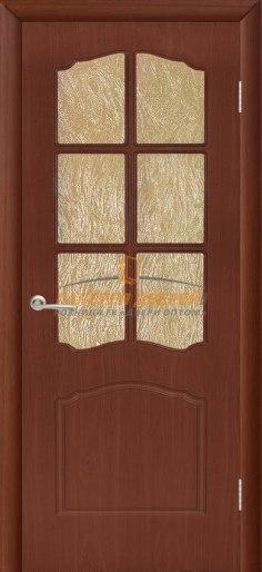 Межкомнатная дверь Альфа ПО Итальянский орех