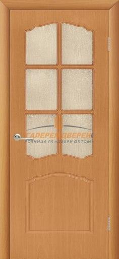 Межкомнатная дверь Альфа ПО Миланский орех