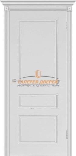Дверь межкомнатная Честер эмаль белая ПГ