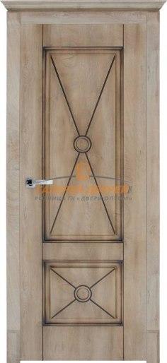 Дверь Dante 2 ПГ Срез дуба светлый