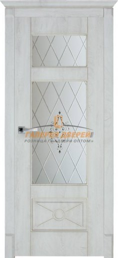 Дверь Dante 4 ПО Срез дуба белый