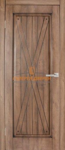 Дверь Dante 5 ПГ Срез дуба коричневый