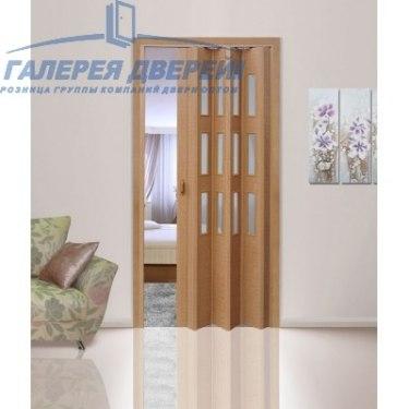 Раздвижная пластиковая дверь (гармошка), ПО миланский орех