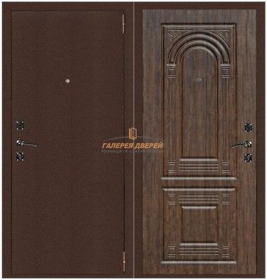 Металлическая дверь Атлант 3 тиковое дерево