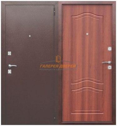 Металлическая дверь Dominanta рустикальный дуб