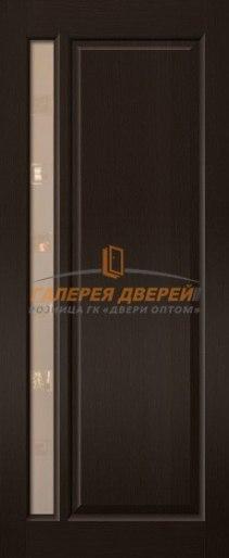 Межкомнатная дверь Фаворит-1 ПО Темный венге