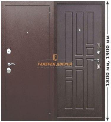 Металлическая дверь Гарда mini Медный антик