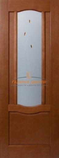 Межкомнатная дверь Глория-1 ПО Вишня