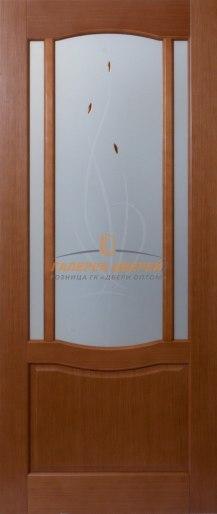 Межкомнатная дверь Глория-2 ПО Вишня