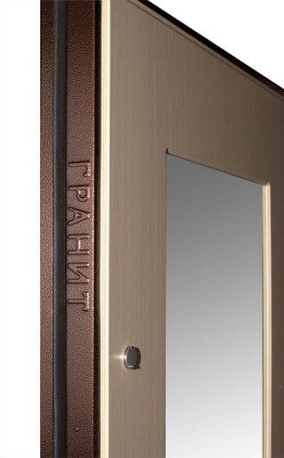 Входная дверь Гранит М3 венге беленый дуб