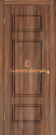 Межкомнатная дверь К-8 ПГ Орех седой светлый