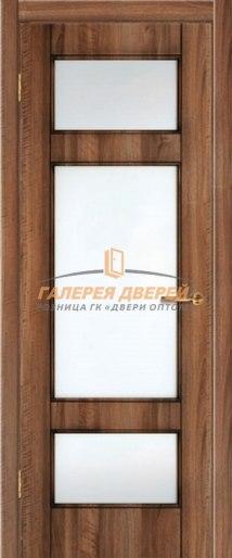 Межкомнатная дверь К-8 ПО Орех седой светлый