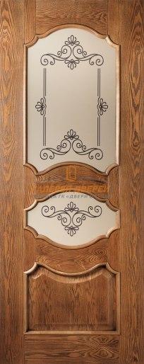 Межкомнатная дверь Марго ПО Дуб антик