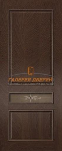 Межкомнатная дверь Палермо-4 ПО Мореный дуб