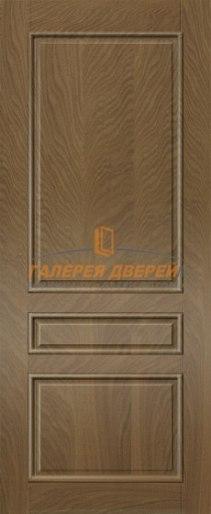 Межкомнатная дверь Палермо ПГ Темный дуб