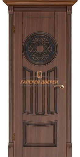 Межкомнатная дверь Зевс ПГ Каштан