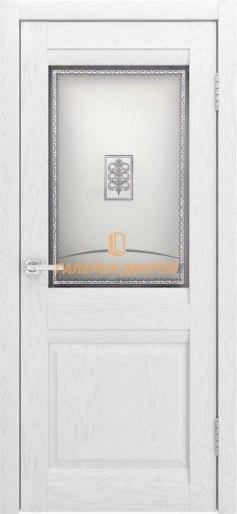 Межкомнатная дверь Шарм ПО Софт тач белый ясень
