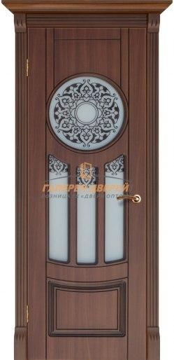 Межкомнатная дверь Зевс ПО Каштан