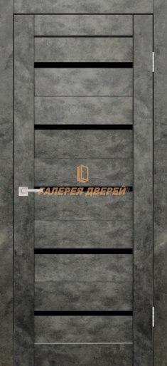 Межкомнатная дверь Танго ПО Бетон графит
