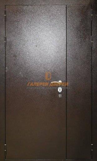 Дверь техническая полуторная Кондор Антик медь