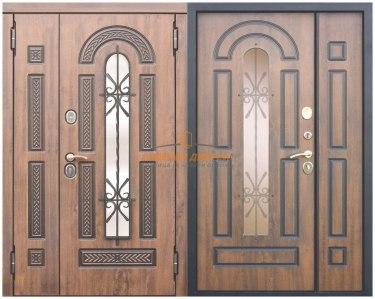 Металлическая дверь Виконт двустворчатая