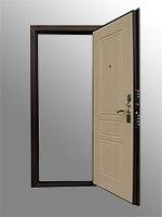 Входная дверь Зенит 4 венге/беленый дуб