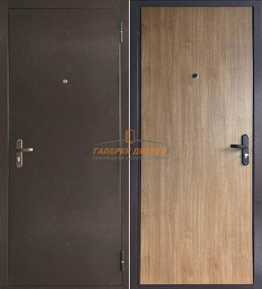 Металлическая дверь Эконом дуб арден