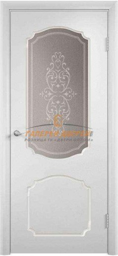 Дверь Ф-01х ПО Эмаль белая