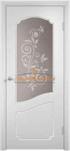 Дверь Ф-07х ПО Эмаль белая