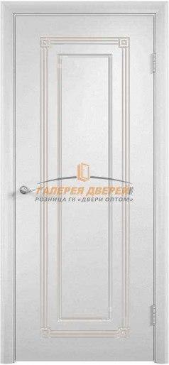 Дверь Ф-11 ПГ Эмаль белая