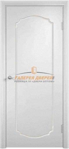 Дверь Ф-4 ПГ Эмаль белая
