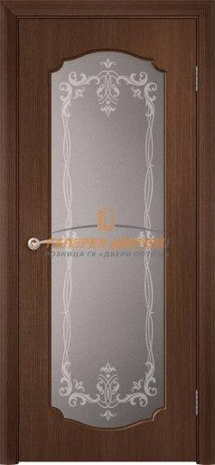 Дверь Классика Ф-04х ПО Орех тёмный