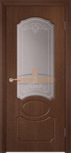 Дверь Классика Ф-06х ПО Орех тёмный