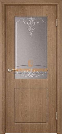 Дверь Классика Ф-09х ПО Орех карамель
