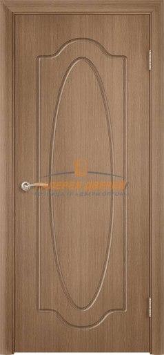 Дверь Классика Ф-5 ПГ Орех карамель